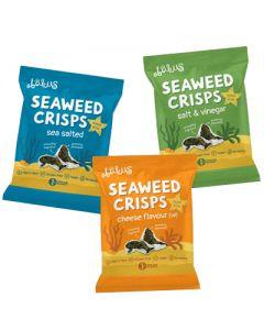 Abakus Foods Seaweed Crisps - 18g x 12