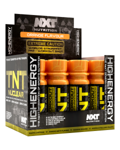 NXT Nutrition TNT Nuclear Shots 12 x 60ml